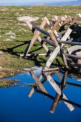 Fence (PhotoBobil) Tags: colorado mtevans
