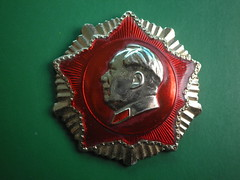 The Red Star  红星 (Spring Land (大地春)) Tags: 中国 毛泽东像章 毛主席 毛泽东 徽章 zedong mao badge china