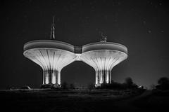 Vattentornen i Ystad (JO-Design.se) Tags: watertower ystad nightphoto stars night nx1