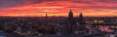 Amsterdam red (Ralph Rozema) Tags: ralphrozemaphotography amsterdam sunset red pano panorama netherlands holanda