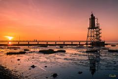 Lighthouse | Dorum (Onascht) Tags: lighthouse photoart meer kste wasser nordsee sea leuchtturm niedersachsen cuxland onascht nikon anderestichwrter water seascape digitalart dorum northsea d610