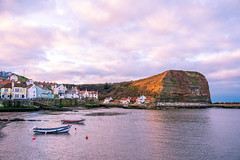 Staithes (phildigs89) Tags: staithes northeast nikon d7200 sigma sunset fishing boat harbour 18250