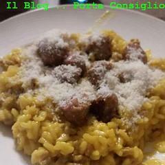 Risotto Salsiccia e Zafferano o Risotto alla Monzese (RicetteItalia) Tags: risotto zafferano salsiccia