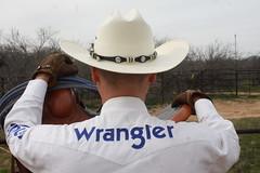 COWBOY PHOTO SHOOT (AZ CHAPS) Tags: ranch arizona hat cowboy wranglers gloves chaps saddle logoshirt