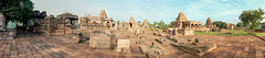 Pattadakal temple complex (KeithDM) Tags: panorama india stone architecture sunrise temple ancient ruins daytime karnataka monuments hindu archeology chalukya pattadakal
