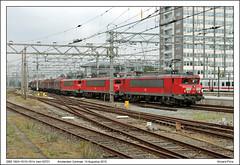 DBS 1604+1615+1614 - Amsterdam Centraal - 63701 (14-08-2015) (Vincent-Prins) Tags: amsterdam 1615 centraal dbs schenker 1604 1614 63701