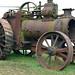 Marshall single cylinder general purpose steam traction engine awaiting restoration