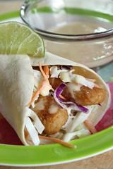 Fish Tacos with Crunchy Slaw (Brent Garell) Tags: fishtacos flourtortilla fishrecipe studentrecipe fishdinnerrecipe fishwraps foodforcollege