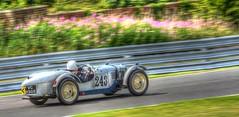 Riley Brooklands (rallysprott) Tags: park sports car sport club vintage riley nikon racing motor hdr vscc brooklands oulton 2015 sprott wdcc d7100 rallysprott