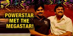 Good news for Mega fans: Powerstar met the megastar! (iluvcinema.in1) Tags: chiranjeevi pawankalyan chiranjeevilatestnews powerstarmetthemegastar