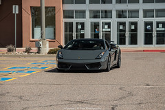 Lamborghini Gallardo Superleggera (Hunter J. G. Frim Photography) Tags: italian colorado grigio gray lamborghini supercar awd v10 gallardo lamborghinigallardo superleggera catsexotics telesto lamborghinigallardosuperleggera lp5604 grigiotelesto