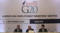 G20 Labour and Employment Ministers' Meeting in Ankara (g20_turkey) Tags: turkey meeting summit session speech ankara meet turkish minister g20