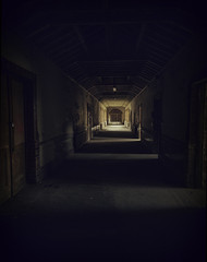 corridors of the mind (Malajusted1) Tags: urban west high bradford decay suicide riding health staircase nhs exploration lunatic asylum derelict mental otley urbex menston royds