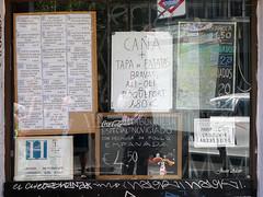 Cierre. Bar Noviciado. Precios (Madrid) (Juan Alcor) Tags: madrid bar precios noviciado