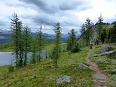 7-083 (Gnarlene) Tags: hiking banff healypass monarchramparts