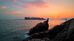 Sunset Clouds Of Hong Kong @ 2015-09-08 (kuno mejina) Tags: sunset canon landscape hongkong eos bay 12mm   magicmoments sunsetclouds magichour    canonphotos samyang thisishongkong canoneosm3 samyang12mmf20ncscs