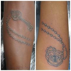 Custom lock and key