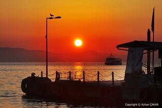 Sunrise Heybeliada Island