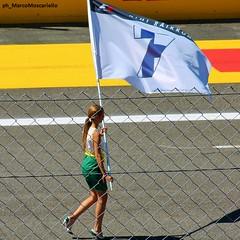 F1 Monza GP 2015 - Kimi Raikkonen flag (Marco Moscariello) Tags: suomi finland flag f1 ferrari finnish formula1 raikkonen monza 2015 kimiraikkonen italiangp