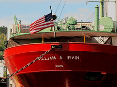 WILLIAM A. IRVIN. (C) (Warren Erickson 54880) Tags: park lake water minnesota boat ship cannon canalpark williamairvin duluthminnesota cannong10 warrenerickson