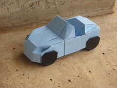Convertible car (orig4mi.) Tags: car paper origami convertible fold