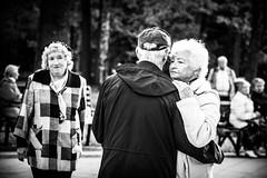 The Third - superfluous [Third wheel]  (City and People #37) (Andrey  B. Barhatov) Tags: life park street city light people urban blackandwhite bw black love face contrast dark outdoors noir mood noiretblanc russia outdoor moscow grunge sunday grain story streetphoto msk ru emotions vignette moskva   4x6    russianfederation whiteonblack  sigmalens moscowwalks blackandwhiteonly   msknoir cityandpeople barhatovcom bnwmood olympuspenepl6 sigmaaf60mmf28dnart