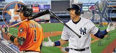 DIFFERING CAREER ARCS (Nix Pix1) Tags: yankeestadium newyorkyankees houstonastros mlbbaseball alwildcardgame