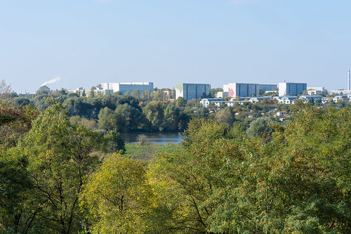 Panorama aus dem Wuhletal vom Kienberg Foto: Ole Bader