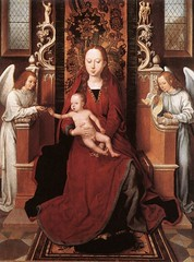 memling_virgin_child_enthroned_with_two_angels_1490 (Art Gallery ErgsArt) Tags: museum painting studio poster artwork gallery artgallery fineart paintings galleries virtual artists artmuseum oilpaintings pictureoftheday masterpiece artworks arthistory artexhibition oiloncanvas famousart canvaspainting galleryofart famousartists artmovement virtualgallery paintingsanddrawings bestoftheday artworkspaintings popularpainters paintingsofpaintings aboutpaintings famouspaintingartists