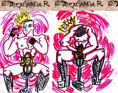 HARD CANDY BY Alex Escarabajal (Alex Escarabajal Garcia Rondal) Tags: gay newyork man hot love sex rebel candy heart madonna hard icon boxe candyshop boxeur