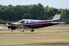 2-GOOD (IndiaEcho Photography) Tags: england canon eos airport aircraft aviation hampshire aeroplane civil bbs airfield yately pa32 pipier 2good eglk 1000d balckbushe