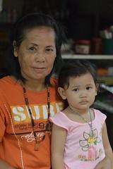 with grandma (the foreign photographer - ) Tags: grandma cute girl portraits thailand nikon child grandmother bangkok khlong bangkhen thanon d3200 nov72015nikon
