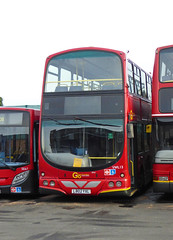 GAL VWL13 - LB02YXL - BX BEXLEYHEATH BUS GARAGE - MON 23RD NOV 2015 (Bexleybus) Tags: bus london ahead garage go etb bexleyheath bx goahead wrightbus vwl13 lb02yxl