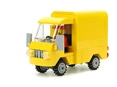Mail van (de-marco) Tags: city car truck town post lego mail latvia van latvija latlug