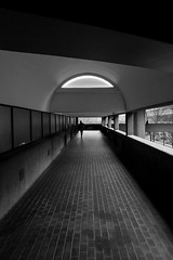 Folds (tomdsmith853) Tags: street people london stairs concrete mono candid barbican bold brutalism