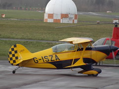 G-ISZA Pitts Special (Aircaft @ Gloucestershire Airport By James) Tags: james airport gloucestershire special lloyds pitts egbj gisza