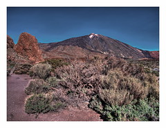 Pico del Teide (kurtwolf303) Tags: españa topf25 beautiful landscape volcano islands interesting spain topf50 topf75 europe 500v20f kanaren unesco tenerife santacruzdetenerife vegetation environment canary colourful teide landschaft bushes teneriffa canaryislands farbig hdr bunt spanien 800views omd umgebung digitalphotography weltkulturerbe islascanarias vulkan kanarischeinseln laorotava cañadasdelteide picodelteide büsche 900views echeyde photomatixpro 750views 1500v60f 1000v40f teyde 250v10f flickrelite unlimitedphotos micro43 microfourthirds olympusem1