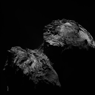 Comet 67P on 10 December 2015 from OSIRIS narrow-angle camera