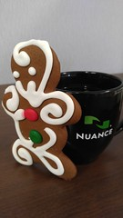 1216151153 (Michael C Meyer) Tags: christmas work lunch communications nuance gingerbreadmancookie