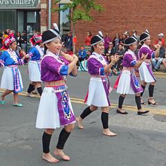 Bare Feet, Flats & Heels (DewCon) Tags: hmong mapleleafparade oktoberfest lacrosseoktoberfest