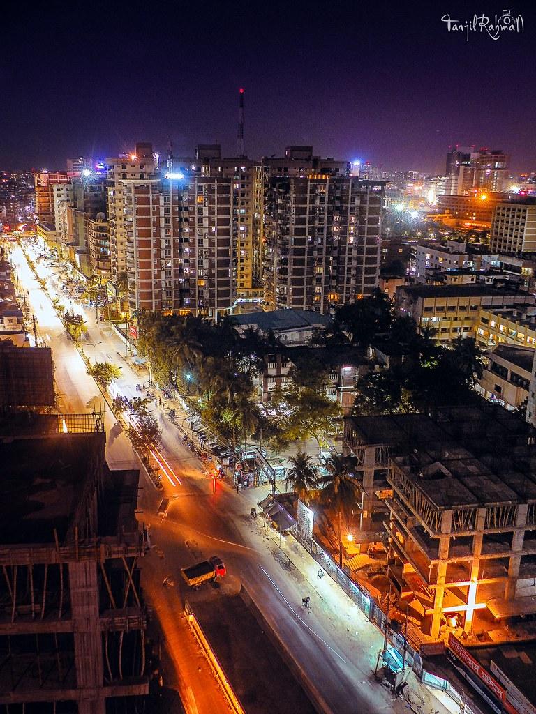 dhaka city at night girl