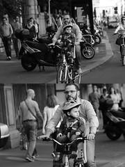 [La Mia Citt][Pedala] (Urca) Tags: milano italia 2016 bicicletta pedalare ciclista ritrattostradale portrait dittico nikondigitale mir bike bicycle biancoenero blackandwhite bn bw 89586