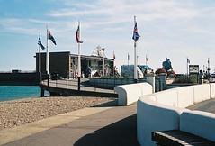 Deal Pier - Kent (jcbkk1956) Tags: 45mmf28 rokkor deal kent pier seafront minolta a5 minoltaa5 rangefinder analog agfa200 film 35mm worldtrekker