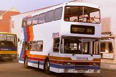 STAGECOACH CUMBERLAND 1028 K128DAO (bobbyblack51) Tags: stagecoach cumberland 1028 k128dao leyland olympian alexander rl carlisle bus station 1995