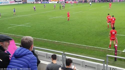 29 octobre 2016 - Stade vs Lyon