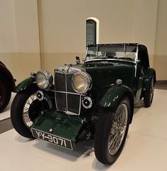 MG J2 1932 (D70) Tags: 4 cyl sohc 2 su carburetors 847cc 36bhp 5500 rpm spd mechanical drum brakes mg j2 1932 franschhoek motor museum httpsyoutube5wvl02bjihy