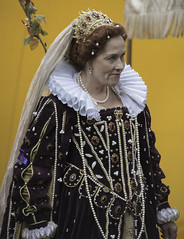 The Queen is NOT Amused (dcnelson1898) Tags: folsom california outdoors renaissancefair event costume joust tudor medieval
