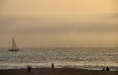 Oceano Mare (AlessandroDM) Tags: nazar sea mare portogallo portugal ship nave barca vela