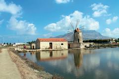 Mulino Maria Stella (Antonella Profeta) Tags: saline trapani paceco sale mulino wwf riserva naturale sicilia sicily italia italy mare