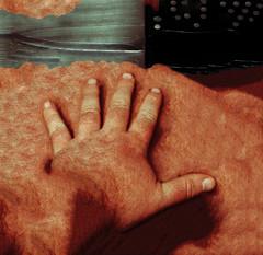 Meat Factory II (Isengardt) Tags: meat fleisch skin haut finger hand messer knife factory fabrik series serie abstract abstrakt disturbing verstrend olympus omd em1 1250mm